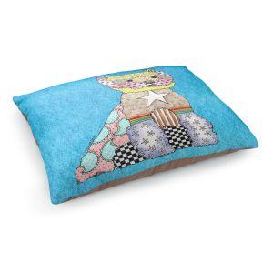 Decorative Dog Pet Beds | Marley Ungaro - Westie Aqua