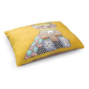 Decorative Dog Pet Beds | Marley Ungaro - Westie Gold