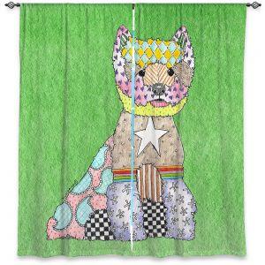 Decorative Window Treatments | Marley Ungaro - Westie Green
