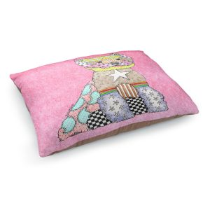 Decorative Dog Pet Beds | Marley Ungaro - Westie Light Pink