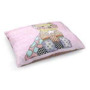 Decorative Dog Pet Beds | Marley Ungaro - Westie Pastel Pink