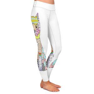 Casual Comfortable Leggings | Marley Ungaro - Westie White