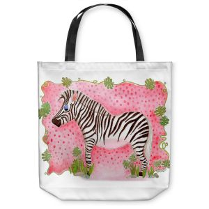 Unique Shoulder Bag Tote Bags   Marley Ungaro Zebra Raspberry