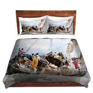 Artistic Duvet Covers and Shams Bedding | Martin Taylor - All hands On Deck