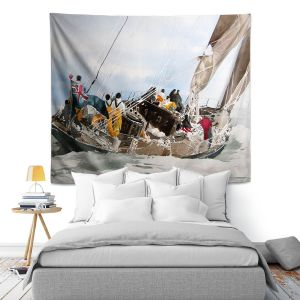 Artistic Wall Tapestry   Martin Taylor All hands On Deck