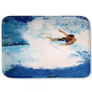 Decorative Bathroom Mats | Martin Taylor - Catch the Next Wave