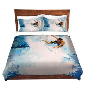 Artistic Duvet Covers and Shams Bedding   Martin Taylor - Catch the Next Wave