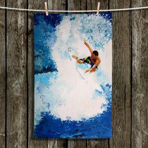 Unique Bathroom Towels   Martin Taylor - Catch the Next Wave