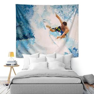 Artistic Wall Tapestry | Martin Taylor Catch the Next Wave
