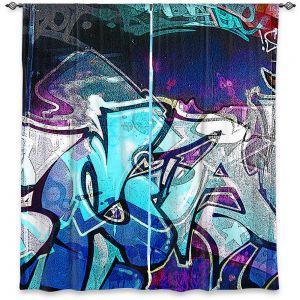 Decorative Window Treatments | Martin Taylor - Graffiti 11 | Urban City Paint