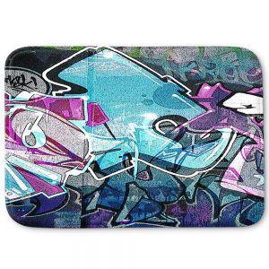 Decorative Bathroom Mats   Martin Taylor - Graffiti 12   Urban City Paint