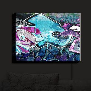 Nightlight Sconce Canvas Light | Martin Taylor - Graffiti 12