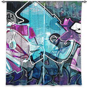 Decorative Window Treatments | Martin Taylor - Graffiti 12 | Urban City Paint