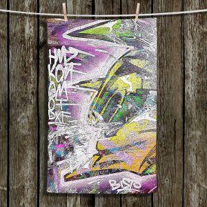 Unique Hanging Tea Towels   Martin Taylor - Graffiti 4   Urban City Paint