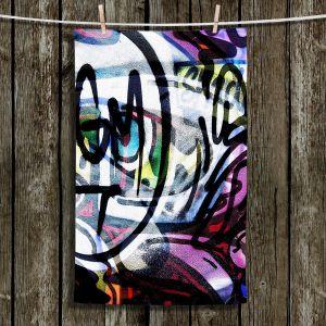 Unique Bathroom Towels | Martin Taylor - Graffiti 5 | Urban City Paint