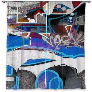 Decorative Window Treatments | Martin Taylor - Graffiti 6 | Urban City Paint