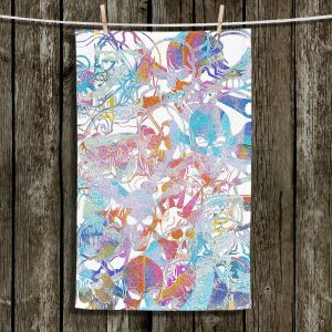 Unique Hanging Tea Towels | Martin Taylor - Graffiti 9 | Urban City Paint Skull Rock