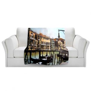 Artistic Sherpa Pile Blankets | Martin Taylor Views Over Venice