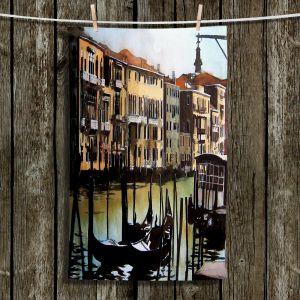 Unique Bathroom Towels   Martin Taylor - Views Over Venice