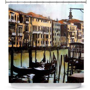 Premium Shower Curtains | Martin Taylor Views Over Venice