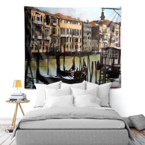 Artistic Wall Tapestry | Martin Taylor Views Over Venice