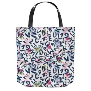 Unique Shoulder Bag Tote Bags | Metka Hiti - ABC | Alphabet Art