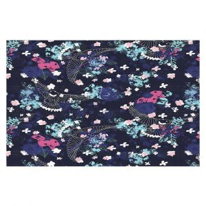 Decorative Floor Covering Mats | Metka Hiti - Birds | Bird Pattern