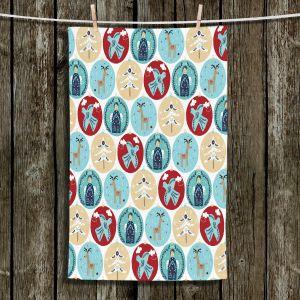 Unique Hanging Tea Towels | Metka Hiti - Christmas Bubbles