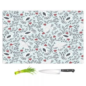 Artistic Kitchen Bar Cutting Boards | Metka Hiti - Christmas Dove | Christmas Birds