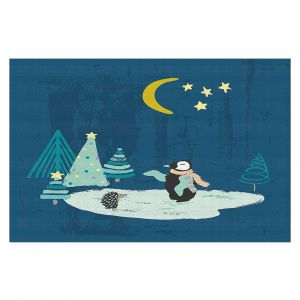 Decorative Floor Coverings   Metka Hiti - Christmas Penguin