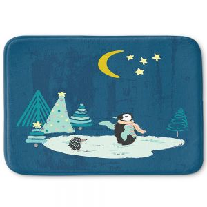 Decorative Bathroom Mats   Metka Hiti - Christmas Penguin