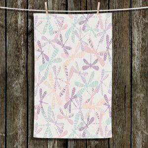 Unique Hanging Tea Towels | Metka Hiti - Dragonflies | Patterns Dragonflies