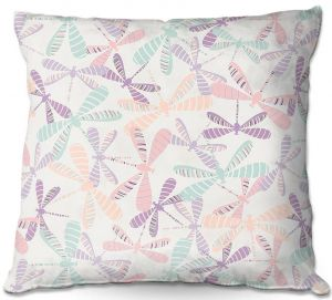 Throw Pillows Decorative Artistic | Metka Hiti - Dragonflies