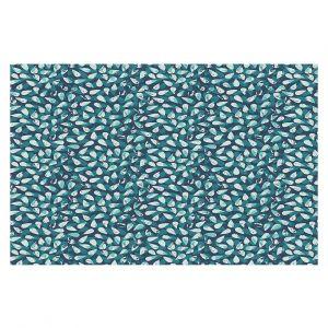 Decorative Floor Coverings | Metka Hiti - Drops Of Jupiter Teal
