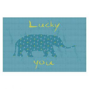 Decorative Floor Coverings | Metka Hiti - Elephant Lucky You