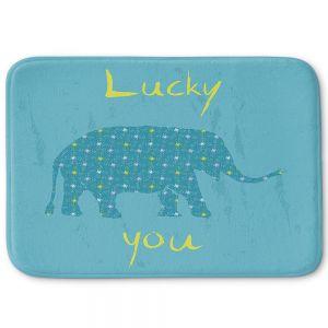 Decorative Bathroom Mats   Metka Hiti - Elephant Lucky You