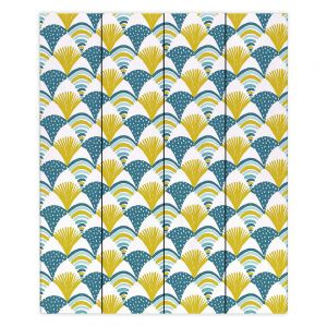 Decorative Wood Plank Wall Art  Metka Hiti - Fishy l