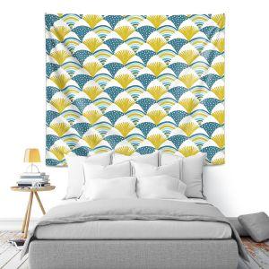 Artistic Wall Tapestry | Metka Hiti - Fishy l