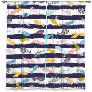 Decorative Window Treatments | Metka Hiti - Fishy lll