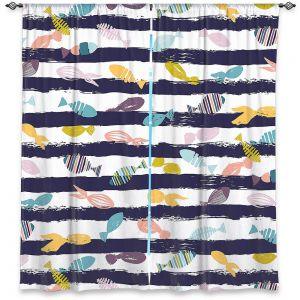 Decorative Window Treatments | Metka Hiti - Fishy lll