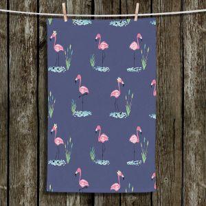 Unique Bathroom Towels | Metka Hiti - Flamingo ll