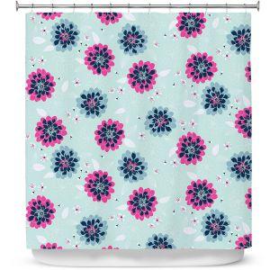 Premium Shower Curtains | Metka Hiti - Flower Blossoms