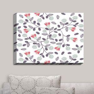 Decorative Canvas Wall Art   Metka Hiti - Flower Power   Flowers Patterns