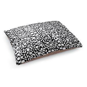 Decorative Dog Pet Beds | Metka Hiti - Flower Vine | Floral Flowers pattern