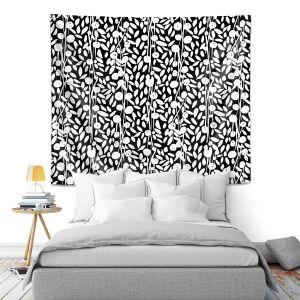 Artistic Wall Tapestry | Metka Hiti - Flower Vine | Floral Flowers pattern
