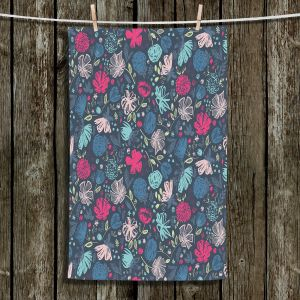 Unique Hanging Tea Towels | Metka Hiti - Flowers Marker