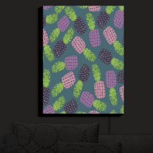 Nightlight Sconce Canvas Light | Metka Hiti - Fruit Pineapple