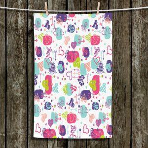 Unique Bathroom Towels | Metka Hiti - Hearts