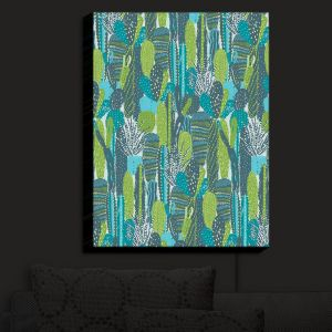 Nightlight Sconce Canvas Light | Metka Hiti - Land of Cacti