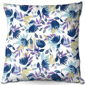 Throw Pillows Decorative Artistic | Metka Hiti - Leafs | Leaves Patterns